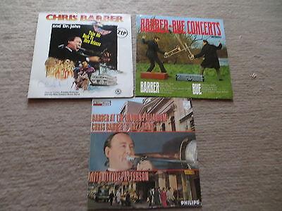 3 LP Schallplatte Sammlung Chris Barber Bue Concerts at London New Orleans