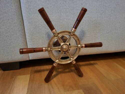 Ships Brass steering wheel