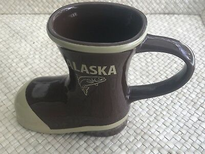Alaska Ceramic Boot Shaped Collectible