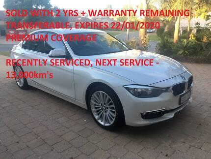 BMW I F LCI Luxury Line White Speed Sports Automatic - 2014 bmw 330i
