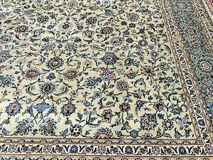 MASSIVE ROOM SIZE 5.15x3.5m HAND MADE PERSIAN KASHAN RUG SIGNED Armadale Stonnington Area Preview