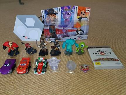 As newPS3 Disney Infinity 1.0 set with characters (Disk included) Mona Vale Pittwater Area Preview