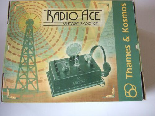 THAMES & KOSMOS  RADIO AGE  VINTAGE RADIO & EXPERIMENT KIT   UNUSED  ORIG. BOX