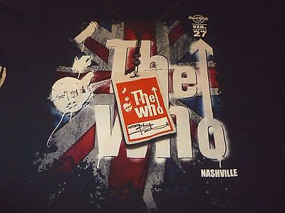 The Who/Hard Rock Cafe Shirt ( Used Size L ) Very Good Condition!!!