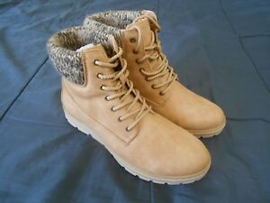 Canyon River Blues Womens Boots Tan Wheat Mid Calf Size 8