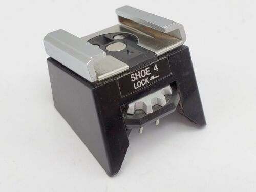 Olympus Shoe 4 - Hot Shoe Attachment / Flash Coupler for OM1N OM2N SLR Cameras