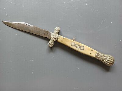 Civil War Folding Bowie Knife John B. Hobson Sheffield