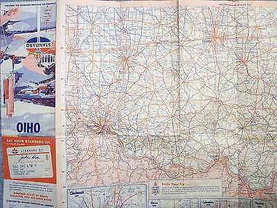 1965 OHIO STATE STANDARD OIL ROADDMAP