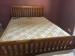 Queen bed with conform able mattress Geraldton Geraldton City Preview