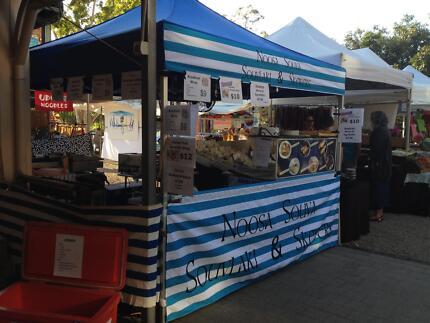 Market Stall - Eumundi & Noosa Farmers Markets - Souvlaki & BBQ Eumundi Noosa Area Preview