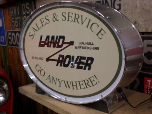 Land Rover,4x4,automobilia,classic,display,mancave,lightup sign,garage,workshop