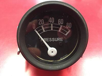 Massey Harris Tractor Oil Pressure Gauge Ferguson 101 102 201 44 55 761511m91