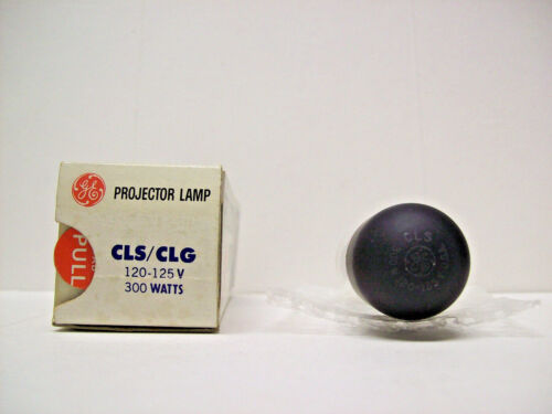 CLS - CLG Projector Projection Lamp Bulb 300W 120-125V GE *AVG. 25-HR LAMP*