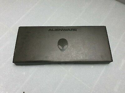 DELL ALIENWARE PC USB BLACK SPANISH MULTIMEDIA KEYBOARD 89FT6 6MY1T NEW SK-8165