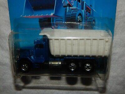 Hot Wheels Peterbilt Dump Truck - Workhorses Card - 1989 - New