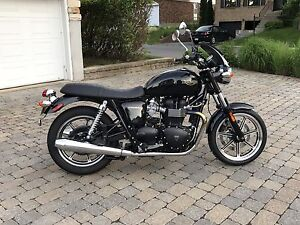 Triumph Bonneville Cafe Racer Motorcycle