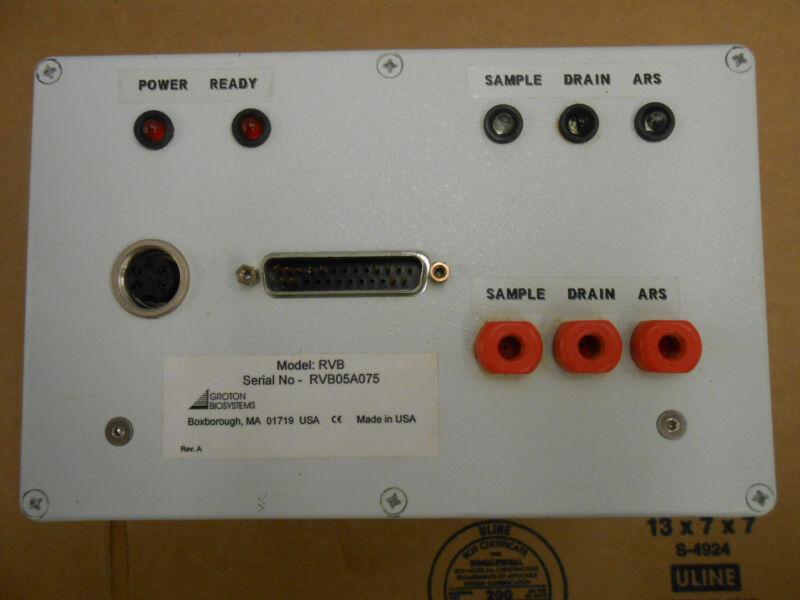 GROTON BIOSYSTEMS RVB SAMPLE COLLECTOR REACTOR INTERFACE MODULE RVB
