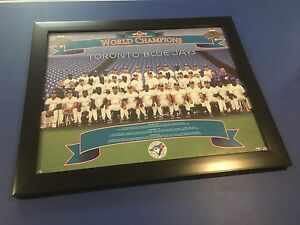 1992 Toronto Blue Jays World Series Team Photo in Picture Frame
