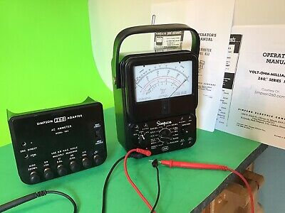Simpson 260 Refurbished Multimeter Series  3 And 653 Ac Ameter  Usa