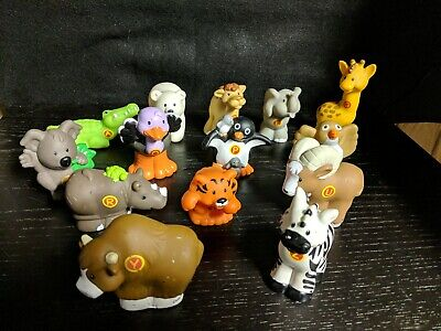2004 Fisher Price Little People A to Z Alphabet Learning Zoo Lot of 14