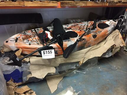2.7m kayak with motor and battery completeSALE