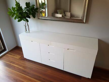 White Sideboard - Buffet (From Domayne)