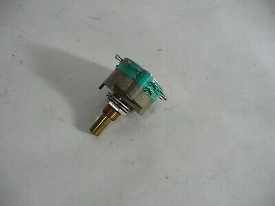 New Genuine Electroswitch C4d0206n-a Rotary Switch 2 Poles 6 Pos