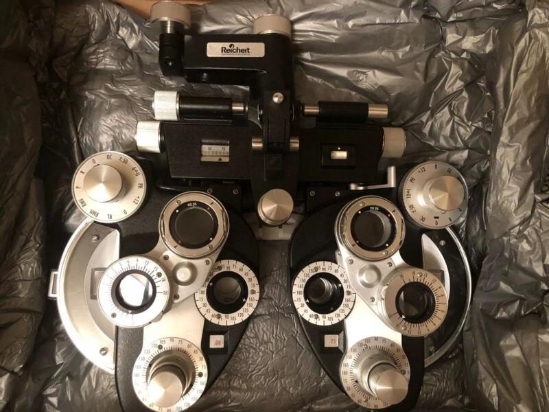 Reichert Negative Cylinder Phoropter (ophthalmology Optometry Ultramatic)