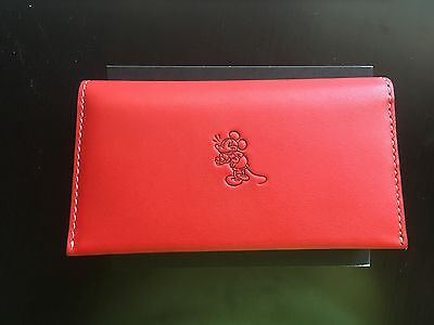 NWT DISNEY X COACH MICKEY RED PHONE WALLET-LIMITED EDITION SOLD OUT!!