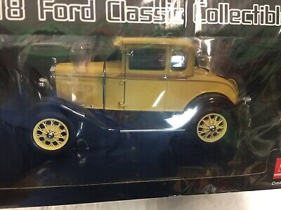 1931 FORD MODEL A COUPE SUN STAR 6135YL 1/18 scale DIECAST CAR