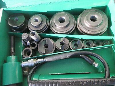 Rebuilt Greenlee 7310sb -4 Hydraulic Slugbuster Knockout 767 Pump 746 Ram