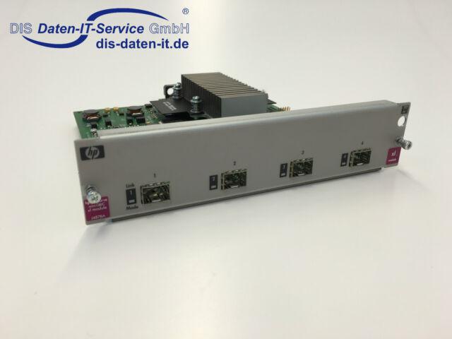 HP J4878A ProCurve xl 4-Port Mini GBIC Switch Module