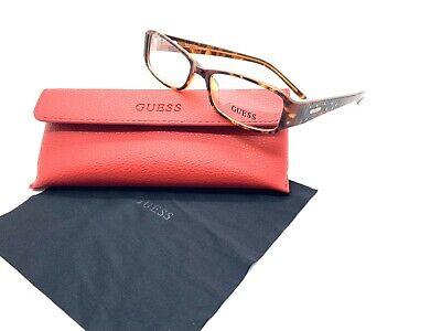 GUESS GU1564 Eyeglasses Frames 52-16-135 Tortoise Crystals Option To Add (Eyeglasses Lens Options)