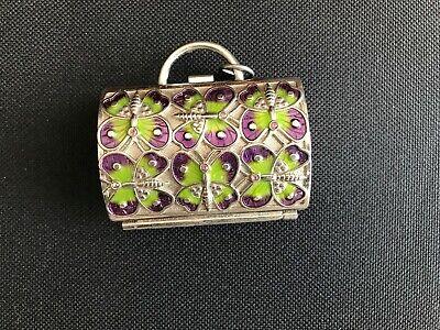 RARE Vintage JUDITH LEIBER Butterfly handbag PILL BOX for NEIMAN MARCUS c.2000