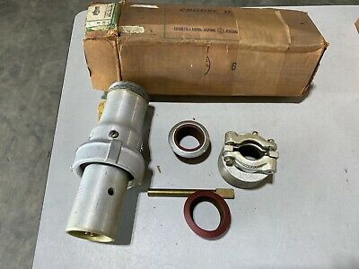 Crouse Hinds Apj10277 M54 Arktite Plug 2-pole 100a New But Missing Screw