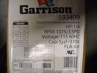 Garrison Direct Drive Furnace Blower Motor 593409