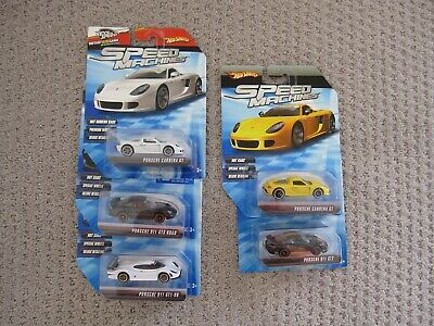 Hot Wheels Speed Machines Five Different Porsche