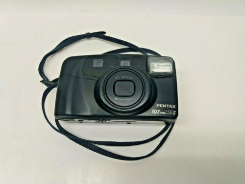 Pentax IQ 115-S Point and Shoot AF Zoom 38mm-115mm Film Camera with Strap