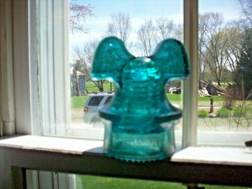 Antique Insulator Hemmingray Mickey Mouse Ear