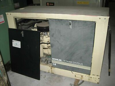 Kohler Natural Gas Generator W 18rz Motor 1800 Rpm 120240 V 16kw Whole House