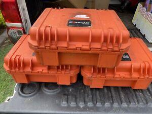 Pelican camera or hard duty waterproof storm proof cases