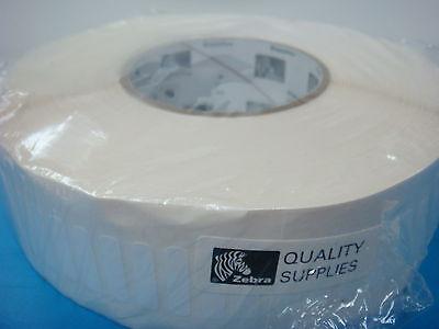 15k Zebra Polyester Labels 1 X .25 Z-ultimate 3000 3000t 5a White Thermal