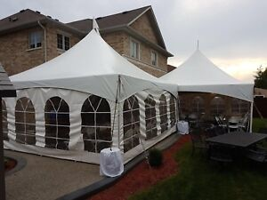 Party and Tent Rentals: Tents, tables, chairs, and linens!
