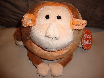 Max The Monkey Stuffed Animals Toy - Round Soft Ball -Goof Ballz 5