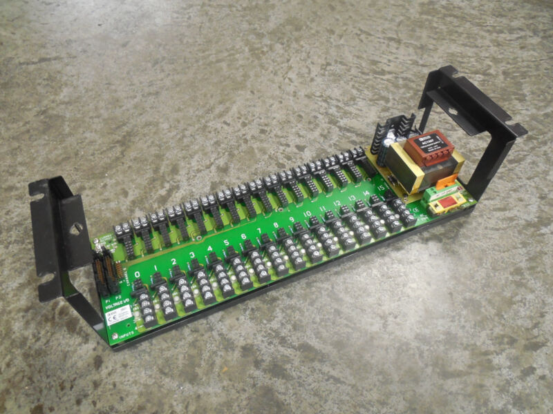 USED Analog Devices 3B01 16 Channel Backplane Module with AC1307 Power Supply