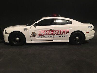 Nassau County New York Sheriff 1:24 Scale Chevy Silverado Police Car No Box