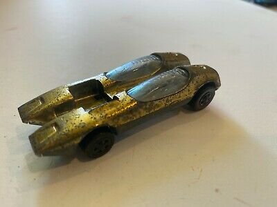 Vintage Hot Wheels Redline 1969 Splittin' Image Gold US