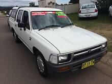 1998 Toyota Hilux Ute DUAL CAB AUTO AIR POWER WITH WARRANTY Greta Cessnock Area Preview