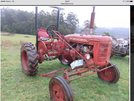 Wanted: Farmall Super A Implements