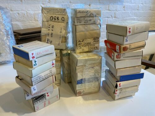 Massive Lot of 16mm TV Commercials from the 1970s, in Original Boxes